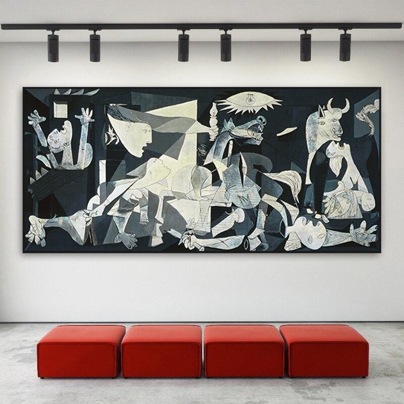 Peintures-d-art-sur-toile-de-Picasso-c-l-bre-impression-de-Guernica-Reproduction-d-art