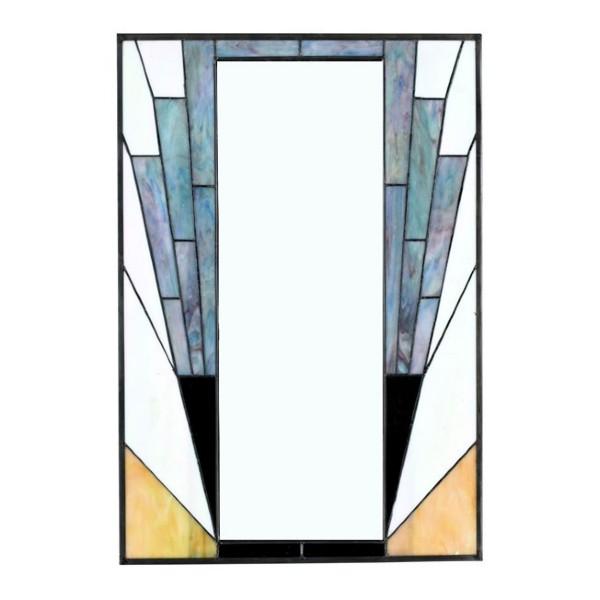 Miroir mural Tiffany Art Deco France
