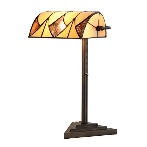Lampe de Table  Tiffany Banquier Parabola