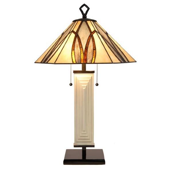 Lampe de Table Tiffany Round Square