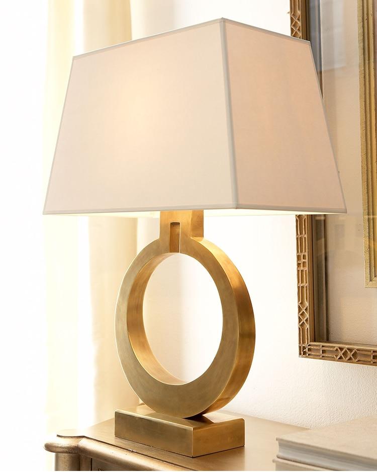 lampe de table style Art Déco