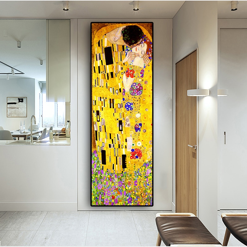Reproduction affiche de Gustav Klimt