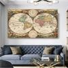 RELIABLI-ART-une-carte-du-monde-r-tro-photos-anciennes-peintures-sur-toile-pour-salon-imprime