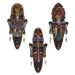 Masques-africains-r-tro-peints-la-main-en-3D-Artisanat-cadeau-de-personka-d-coration-murale