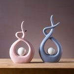VILEAD-petites-Figurines-abstraites-en-c-ramique-27-5cm-31cm-ornements-nordiques-cr-atifs-tag-re