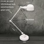 Loft-long-bras-oscillant-r-glable-fer-lampes-de-bureau-E14-Led-220V-lampe-de-Table