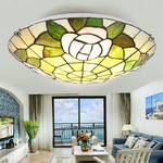 Europe-campagne-verre-plafonnier-LED-avec-2-lumi-res-nouveaut-moderne-plafonnier-pour-salon-lobby-chambre