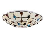 Nordique-Europe-color-verre-plafonnier-LED-avec-2-lumi-res-moderne-vintage-art-d-co-plafonniers