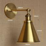LOFT-lampe-discount-clairage-antique-en-m-tal-dor-applique-murale-style-industriel-ajuster-applique-murale