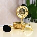 Horloge-de-Table-en-laiton-forme-d-l-phant-Petite-horloge-de-chevet-exquise-d-coration
