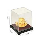 Grenouille-Feng-Shui-en-feuille-d-or-24-carats-d-coration-de-bureau-de-table-argent