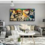 Guernica-By-Picasso-toile-peintures-Reproductions-c-l-bres-toile-mur-Art-affiches-et-impressions-Picasso
