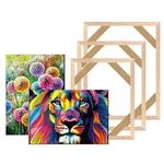 Bricolage-toile-peinture-cadre-en-bois-pour-toile-peinture-l-huile-cadre-en-bois-bricolage-toile
