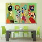 Moderne-toile-peintures-Vasily-Kandinsky-mur-Art-abstrait-peinture-l-huile-pour-la-maison-chambre-livraison