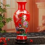 Jingdezhen-Vase-en-c-ramique-moderne-Style-chinois-Lotus-poisson-Vase-cadeaux-de-mariage-artisanat-maison