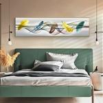 Moderne-abstrait-color-plumes-peinture-l-huile-HD-impression-sur-toile-affiche-mur-Art-photo-pour