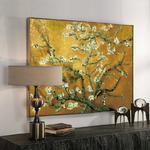 glacis tableau reprodugalerie ction Vincent van gogh Amandier en fleurs au salon