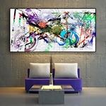 Abstrait-aquarelle-peinture-l-huile-sur-toile-affiches-et-impressions-scandinaves-Cuadros-sur-le-mur-Pop