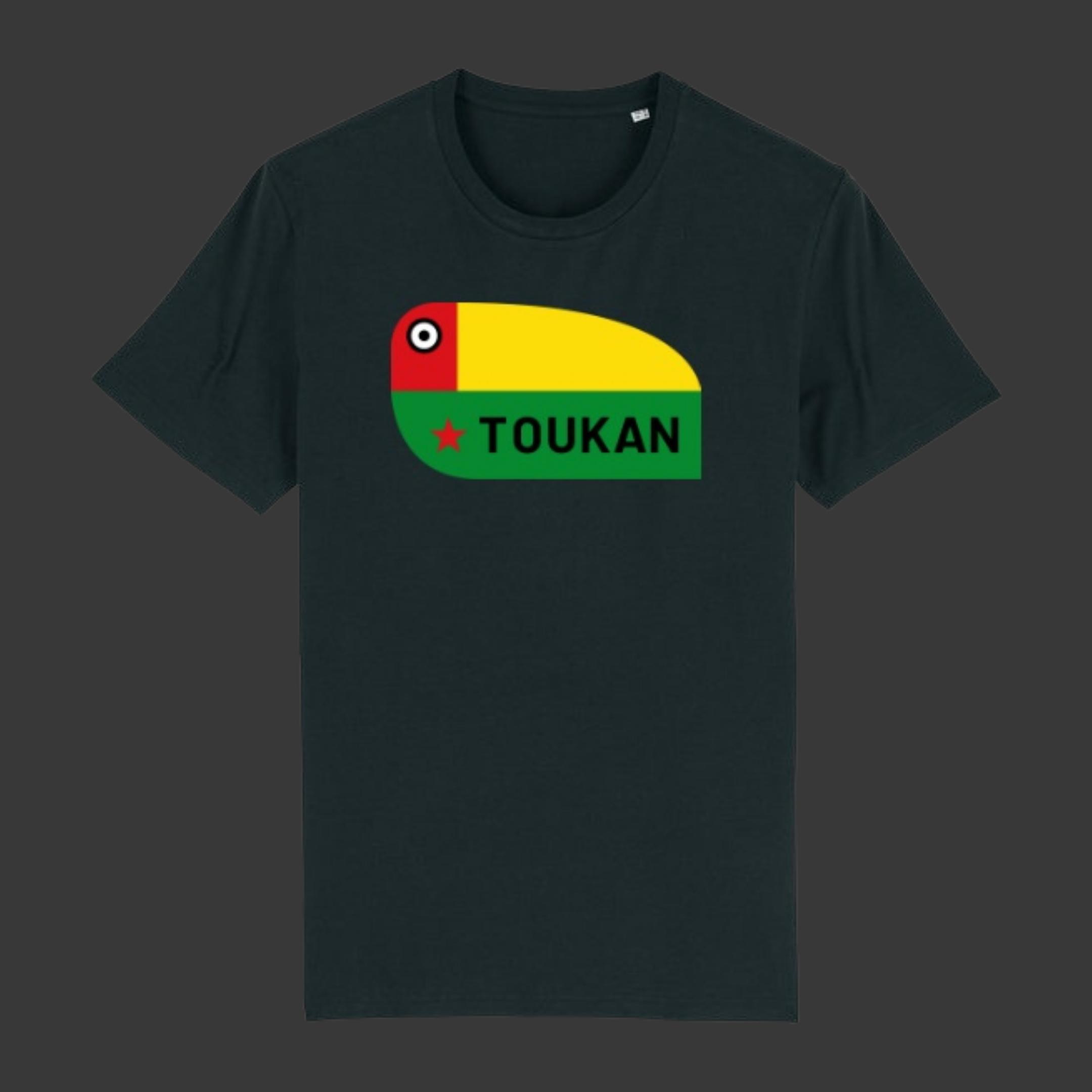 T-shirt TOUKAN - Bek - Noir