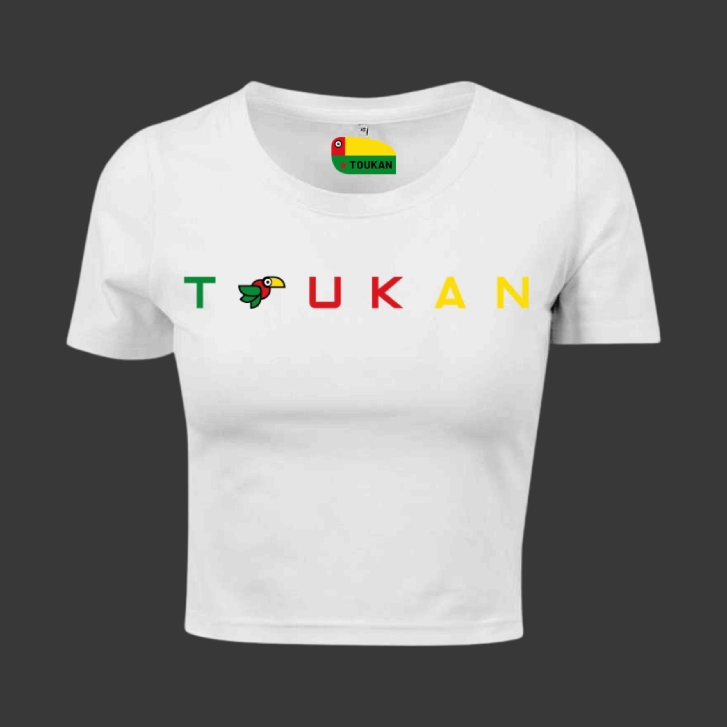 Crop top - TOUKAN - Blanc - Femme