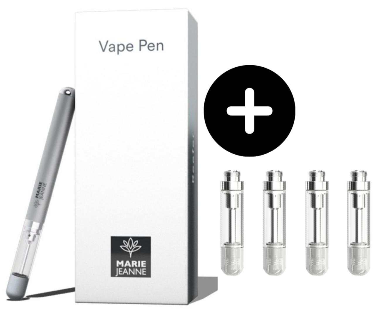 Pack E-Pen + 4 Cartouches Rechargeables
