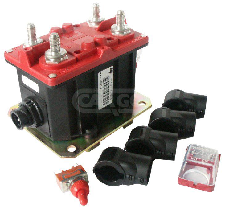 Coupe-batterie électromagnétique