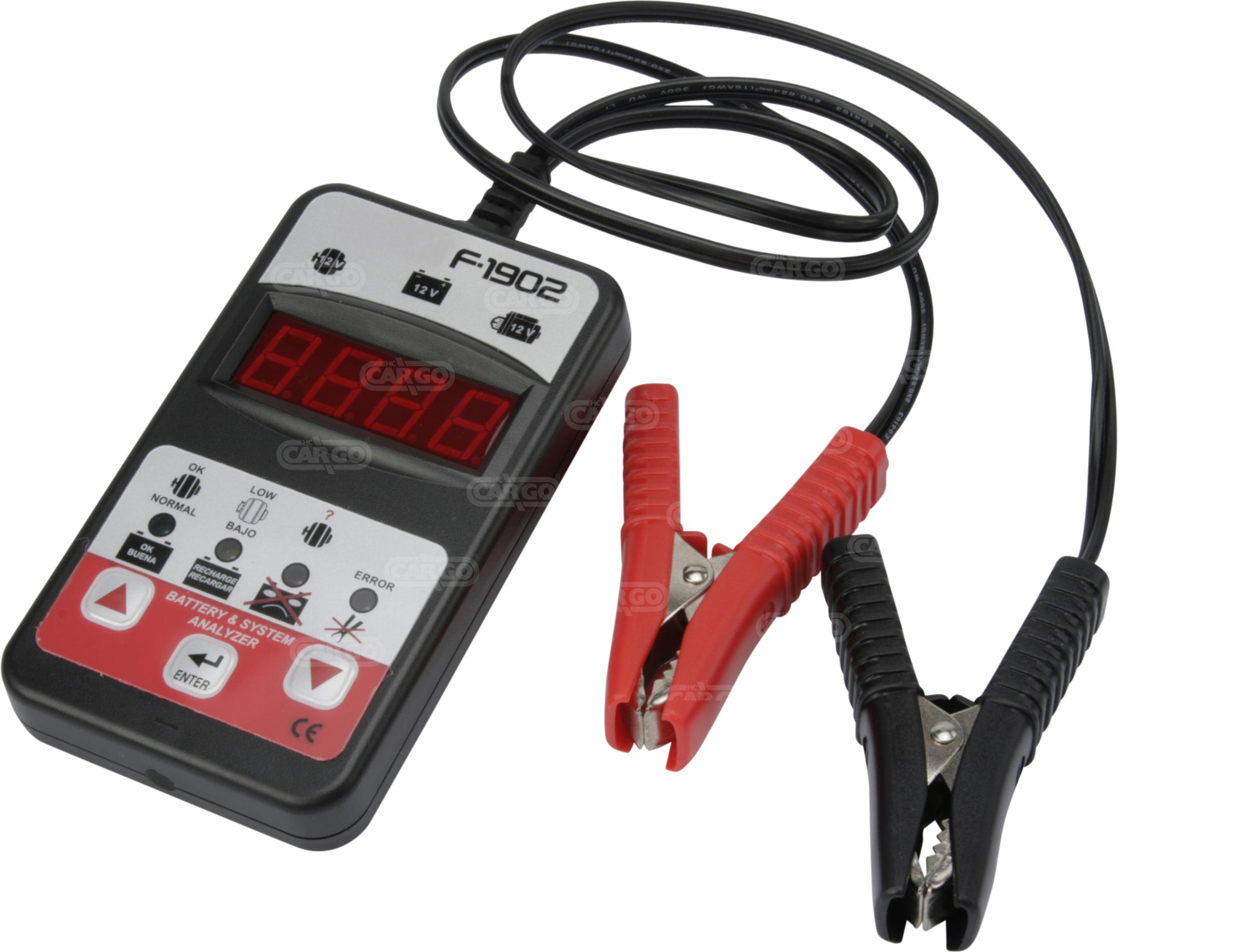 Batterie/Démarrage/Analyseur du système de charge
