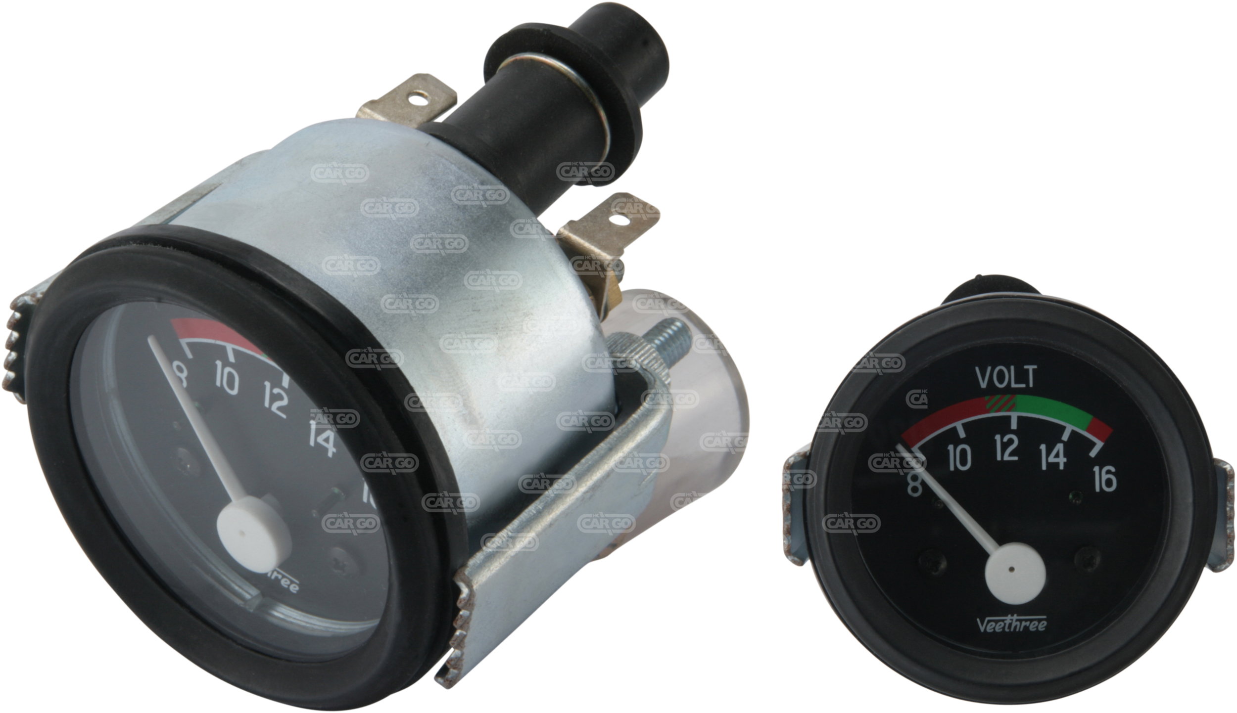 Voltmètre 8-16 V, 52 mm Od