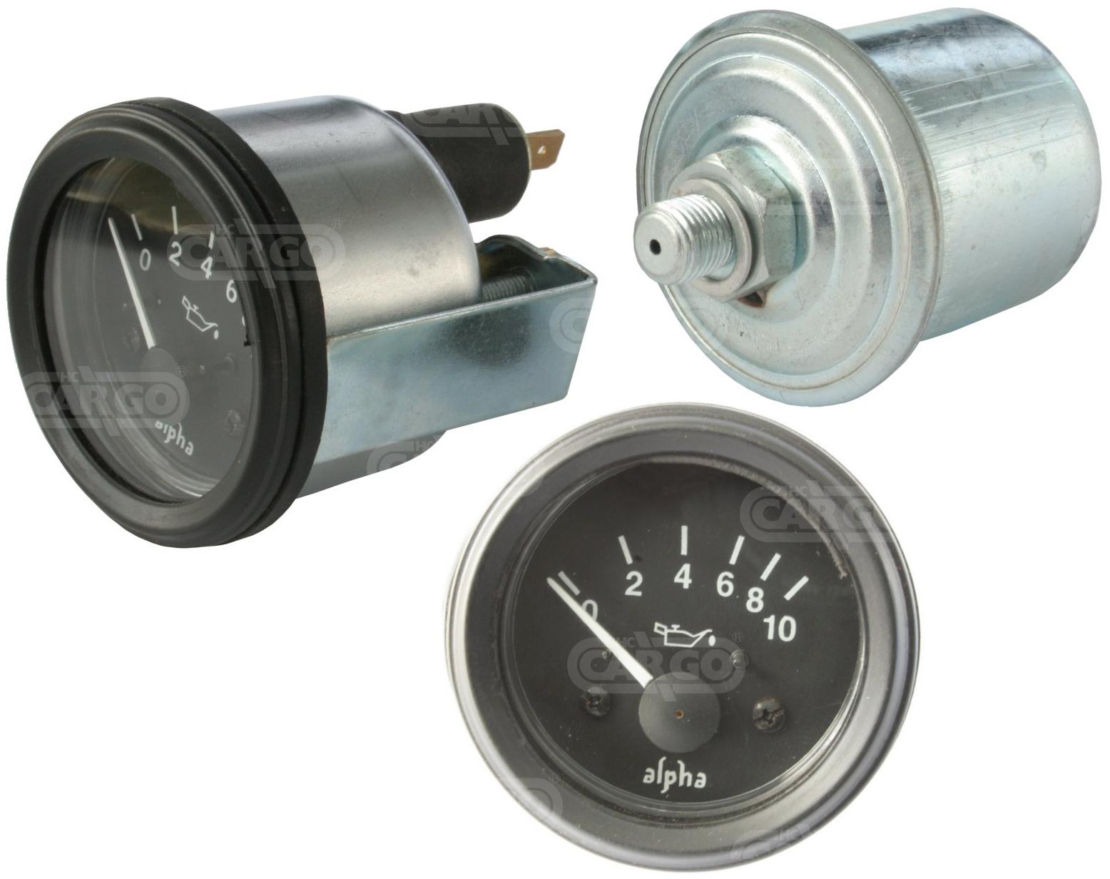 Jauge électrique pression d\'huile