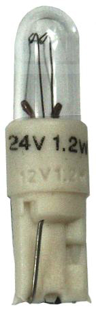 Ampoule kw2x4,6d 24V 1.2W