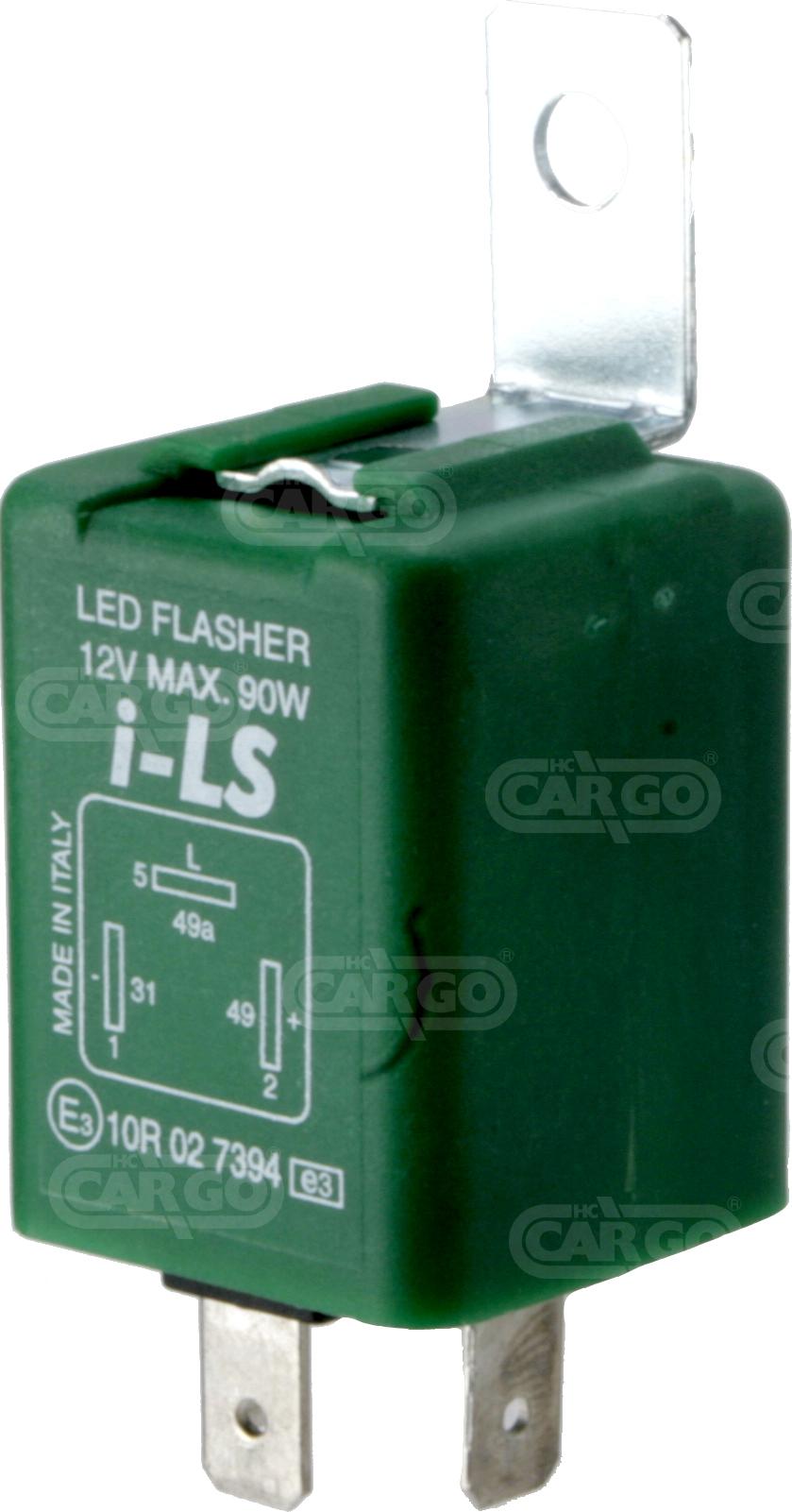 Centrale cligno LED 12 V 3 fils