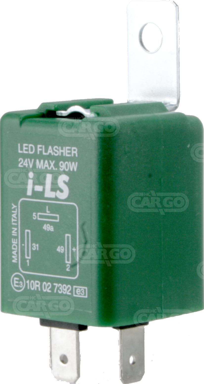 Centrale cligno LED 24 V 3 fils