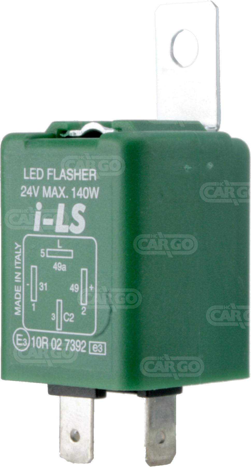Centrale cligno LED 24 V 4 fils