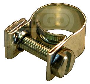 Colliers de serrages 13-16 mm (50 pièces)
