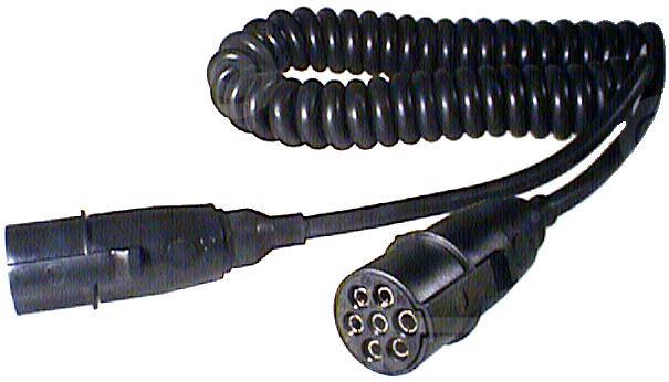 Cordon spirale remorque