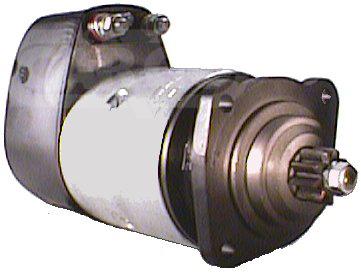 Démarreur 537  Spécifications électriques Voltage12 KW3.6