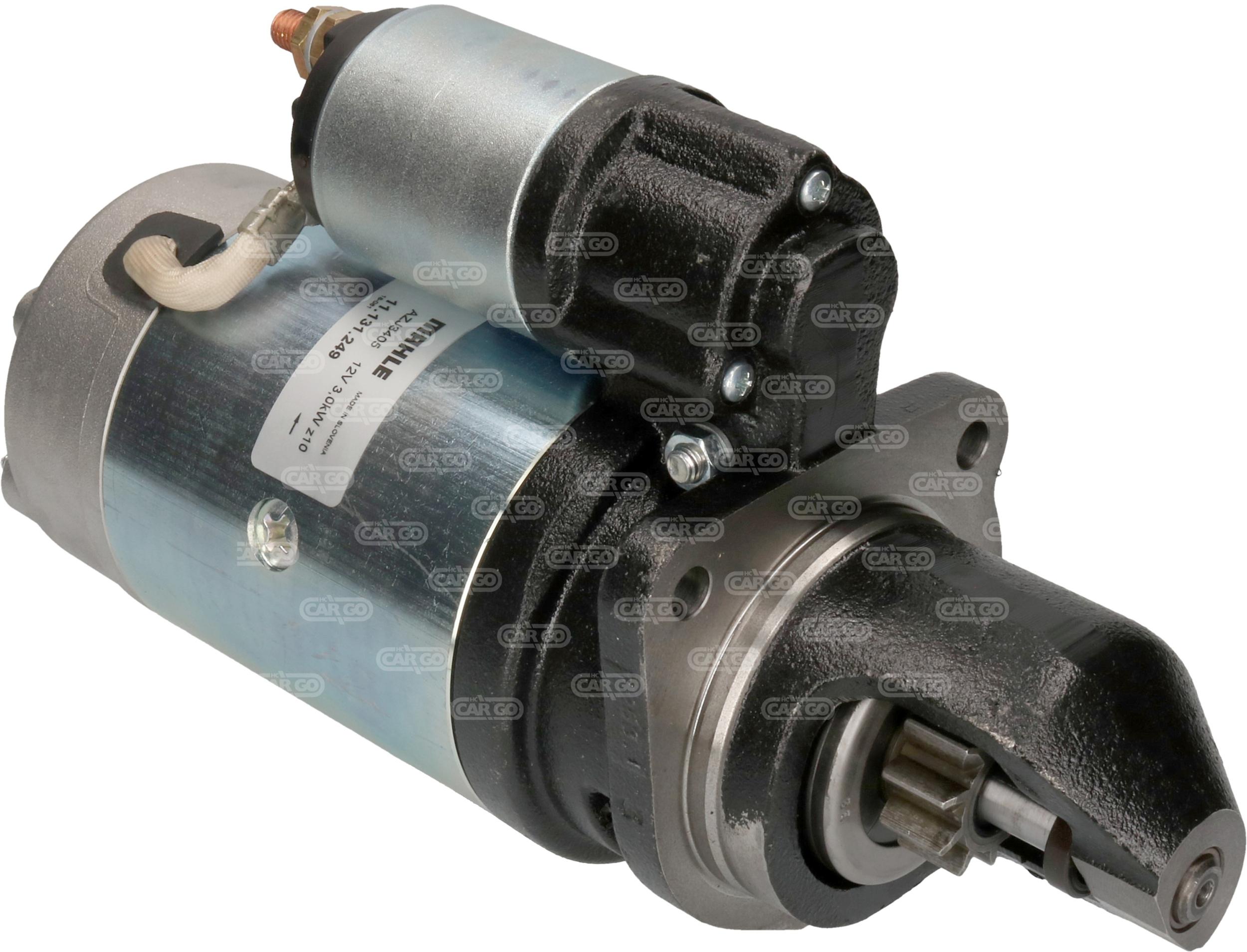 Démarreur 134 Spécifications électriques Voltage12 KW3.0