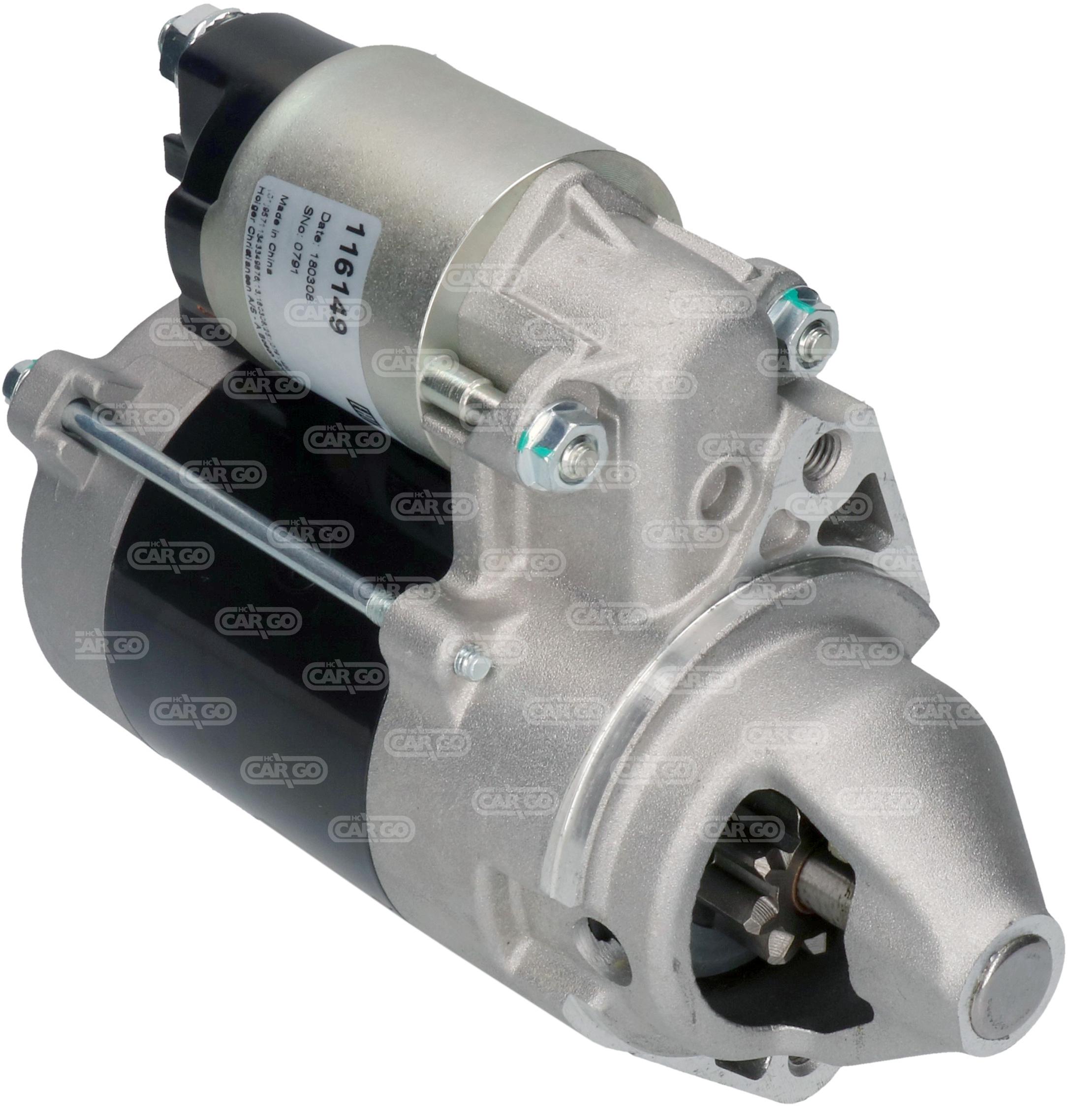 Démarreur 149  Spécifications électriques Voltage12 KW0.7