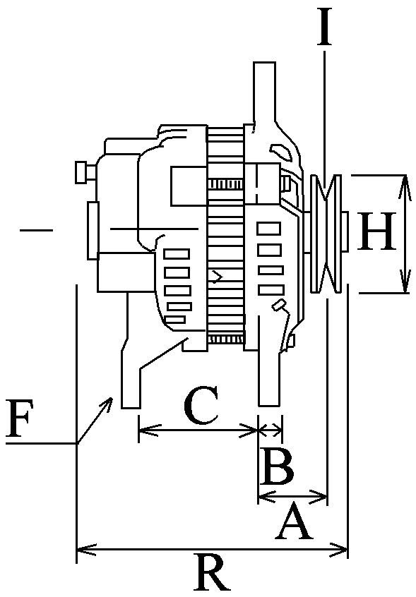 Alternateur 667 Voltage14 Amp90
