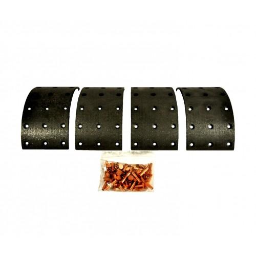 v5494-Patin de kit de garniture de frein  Longueur: 207mm Largeur 86 mm