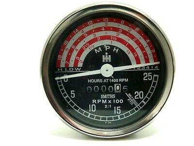 65v464-Horotachymètre km/h - heures à 1400 t/mn