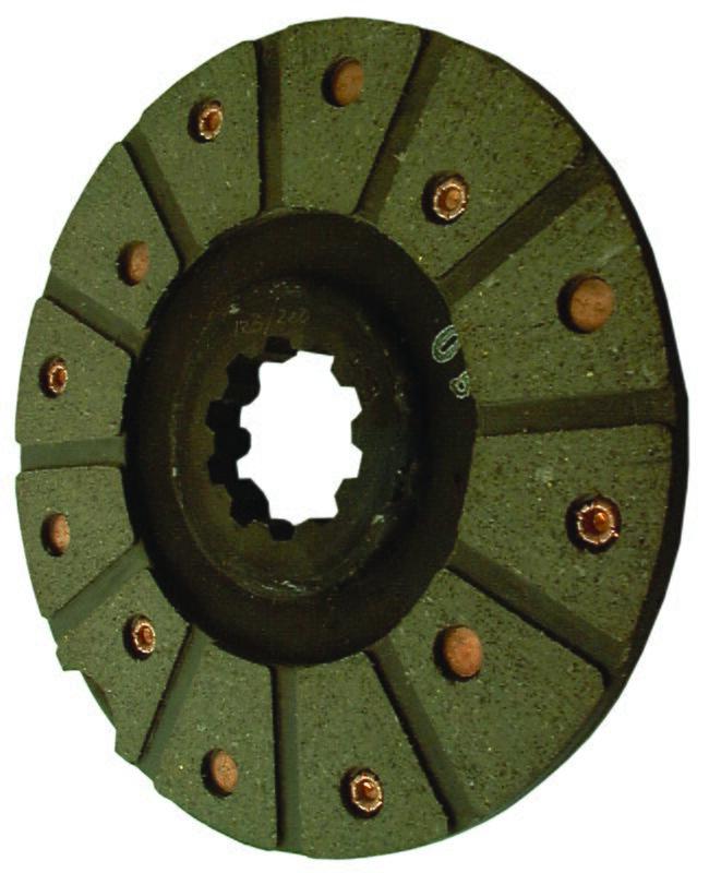 v5563-Disque de friction - 10 cannelures Ø 165 mm