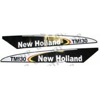 AUTOCOLLANT NEW HOLLAND TM130 - NOIR