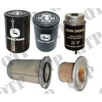 Kit de Filtres pour John Deere  Types : 6000, 6400, 6100, 6200, 6300
