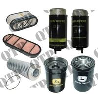 Kit de Filtres pour John Deere  Types : 6520 SE, 6520