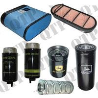Kit de Filtres pour John Deere  Types : 6620 SE, 6820 SE, 6920 SE,6620,6820, 6920
