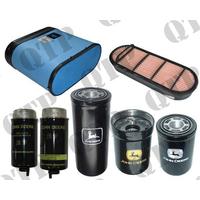 Kit de Filtres pour John Deere  Types :6620,6820, 6920, 6620 Premium, 6820 Premium, 6920 Premium