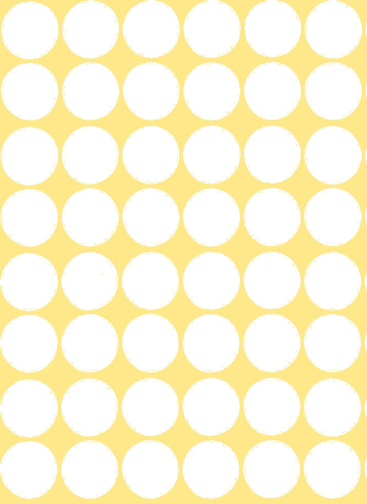 48 Gommettes papier Rondes autocollantes Blanches 25 mm