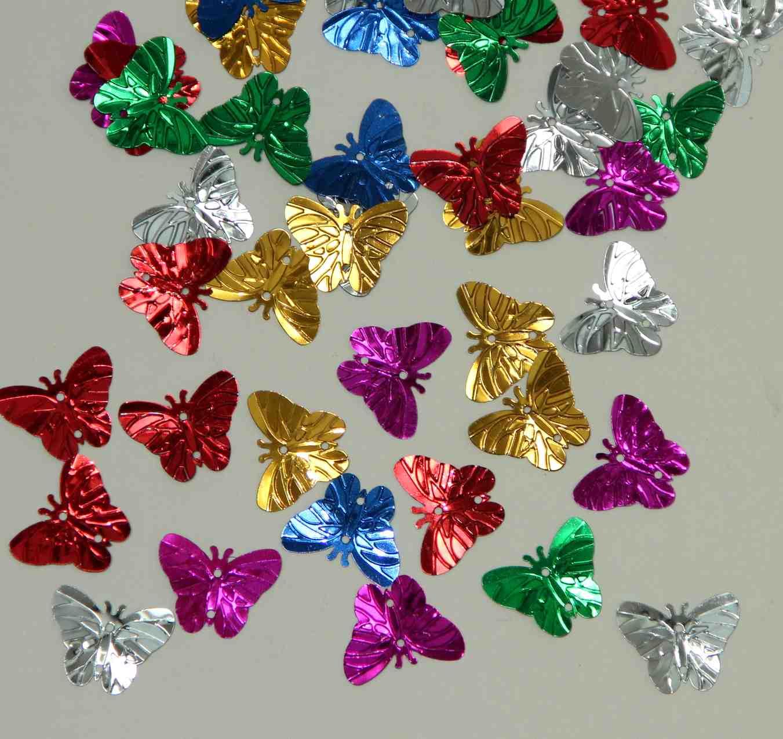 30 sequins Papillons 2cm