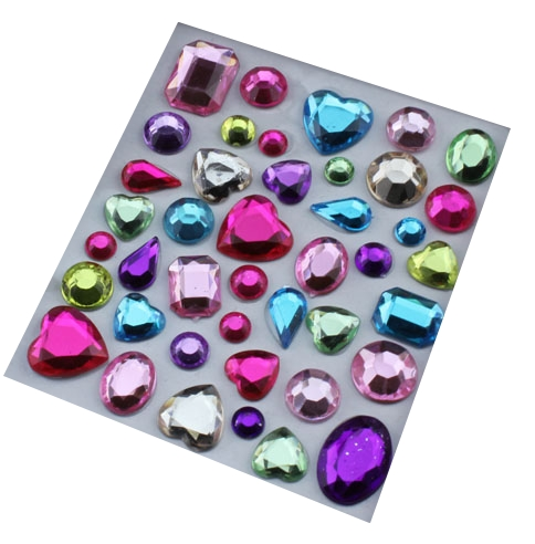 strass cabochons autocollants